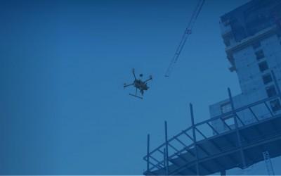 大疆无人机为建筑项目提供设备支持